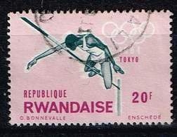 Ruanda 1964, Michel# 83 O  18th Olympic Games, Tokyo 1964, High Jump - Rwanda