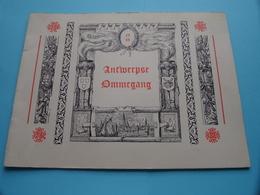 1948 > ANTWERPSE OMMEGANG ( Zie Foto's Kaft Voorwoord En Voor En Achter > Compleet > Formaat 25 X 18,5 Cm. ) ! - Livres, BD, Revues
