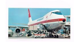 Swissair.Boeing 747 B.Format: 13 X 25 Cm - 1946-....: Ere Moderne