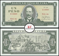 Cuba | 1 Peso | 1986 | P.102c | UNC - Cuba