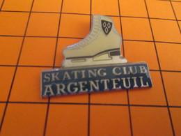 513i PIN'S PINS / Rare Et De Belle Qualité ! / Thème : SPORTS / PATINAGE ARTISTIQUE SKATING CLUB ARGENTEUIL - Patinage Artistique
