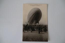 CPA DIRIGEABLES DIRIGEABLE. Lunéville. LE ZEPPELIN. 3 4 Avril 1913. - Dirigeables