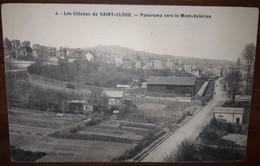 Coteaux De Saint Cloud    Panorama Vers Le Mont Valerien - Saint Cloud