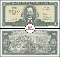 Cuba | 1 Peso | 1988 | P.102d | UNC - Cuba