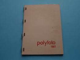 1961 > Kalender POLYFOTO ***** Calendrier / Calendar ( Voir / Zie Photo ) Zoldervonst Te IEPER ! - Photos