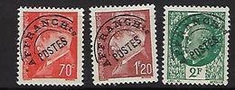 "FR Préo YT 84 à 86 "" Série Pétain "" 1941 Neuf* - Vorausentwertungen"