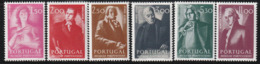 PORTUGAL - N°1234/9 ** (1974) Musiciens Portugais - 1910-... Republik