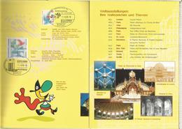ALEMANIA DOCUMENTO HANNOVER 200O EXPOSICION UNIVERSAL - 2000 – Hannover (Germania)