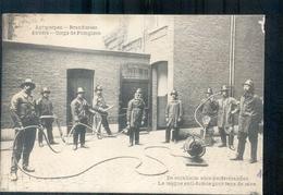 Antwerpen - Brandweer - 1903 - Rookhelm - Kelderbranden - Antwerpen