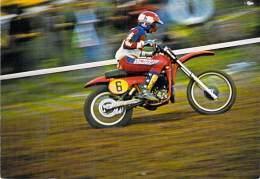 ** Lot De 4 Cartes ** SPORT MOTO ( Motocross ) - Lot Diversifié ( Toutes Scannées ) ... CPM ( Moto Cross ) - Motociclismo