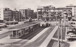 27031Arnhem, Stationsplein – 1959 (FOTO KAART)(zie Hoeken) - Arnhem