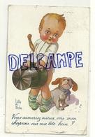 Les Gosses Humoristes De Little Pitche. Petit Garçon, Chien, Chapeau, ... 1919. Fantaisie Trichromes NOYER - Illustrateurs & Photographes
