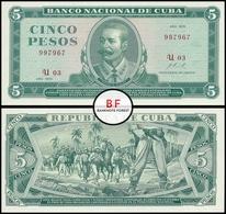 Cuba | 5 Pesos | 1972 | P.103b.2 | UNC - Cuba