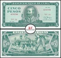 Cuba | 5 Pesos | 1990 | P.103d.2 | UNC - Cuba