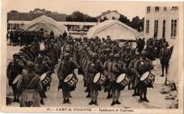 02 .. CAMP DE SISSONNE .. TAMBOURS ET CLAIRONS - Sissonne