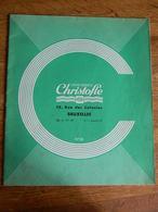 BRUXELLES: ORFEVRERIE CHRISTOFLE -58 RUE DES COLONIES -24 PAGES - Innendekoration