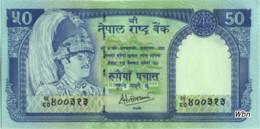 Nepal 50 Rupee (P33c) Sign 14 -UNC- - Népal