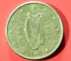 IRLANDA - 2002 - Moneta - Arpa Celtica - Euro - 0.10 - Irlanda