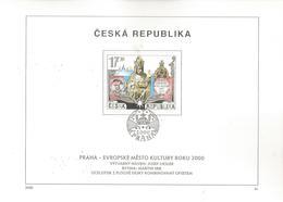 REPUBLICA CHECA DOCUMENTO TEMA CULTURA PRAGA 2000 - Variedades Y Curiosidades
