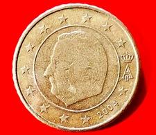 BELGIO - 2004 - Moneta - Effige Di  Re Alberto II - Euro - 0.50 - Belgio