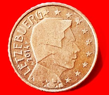 LUSSEMBRUGO - 2014 - Moneta - Ritratto Di Sua Altezza Reale Il Granduca Henri - Euro - 0.50 - Lussemburgo