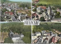 CPSM. VILLECERF. 4 VUES. - Francia