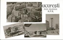 BUCURESTI  OIATA PALATULUI  R.P.R. (scan Verso) - Roumanie