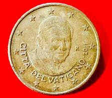 VATICANO - 2011 - Moneta - Papa Benedetto XVI - Euro - 0.50 Cent. - Vaticano