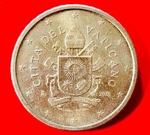 VATICANO - 2018 - Moneta - Stemma Papa Francesco - Euro - 0.50 Cent. - Vaticano