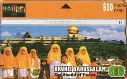 Brunei - BRN-L-15, L&G, The Abode Of Peace (010B), 10 B$, 50,000ex, 2000. Used As Scan - Brunei