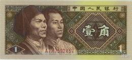 China 1 Jiao (P881) 1980 -UNC- - Chine