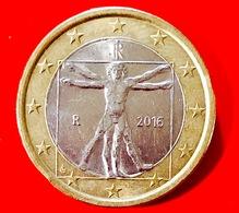 ITALIA - 2016 - Moneta - Proporzioni Ideali Del Corpo Umano, Disegno Di Leonardo Da Vinci - Euro 1.00 - Italia