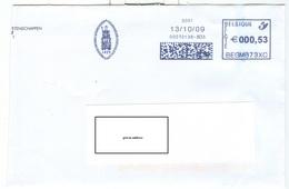 Meter Stamp BEGM873XC University Universiteit Leuven1425 Logo Sedes Sapientiae (Zetel Der Wijsheid) 2009 - 2000-...