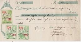 Gand, Gent, Chèque De 1932. - Chèques & Chèques De Voyage