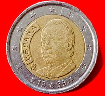 SPAGNA - 1999 - Moneta - Re Juan Carlos - Ritratto - Euro - 2.00 - Slovenia