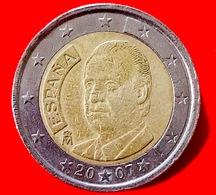 SPAGNA - 2007 - Moneta - Re Juan Carlos - Ritratto - Euro - 2.00 - Slovenia