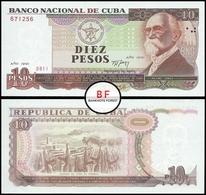 Cuba | 10 Peso | 1991 | P.109a | UNC - Cuba