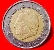 BELGIO - 2000 - Moneta - Effige Del Re Alberto II Del Belgio - Euro - 2.00 - Belgio