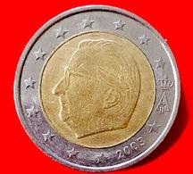 BELGIO - 2003 - Moneta - Effige Del Re Alberto II Del Belgio - Euro - 2.00 - Belgio