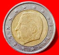 BELGIO - 2006 - Moneta - Effige Del Re Alberto II Del Belgio - Euro - 2.00 - Belgio