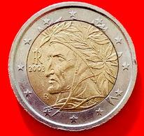 ITALIA - 2003 - Moneta - Dante Alighieri, Dipinto Da Raffaello - Euro - 2.00 - Italia