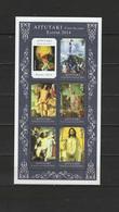 Aitutaki 2014 Paintings Titian - Tiziano, Rubens Etc. Sheetlet MNH - Altri