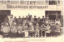 Banquet Bressan Au Bon Vieux Temps (devant La Boulangerie-restaurant BIZET à Viriat) - Francia
