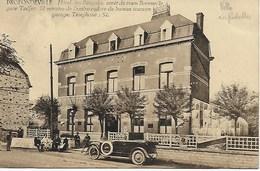 PROFONDEVILLE. ARRET DU TRAM BORENVILLE GARE TAILFER (LUSTIN).HOTEL DES BENGALIS. BELLE ANIMATION. - Profondeville