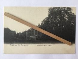 ENVIRONS DE GENAPPE «CHÂTEAU DU RUART À WAYS»panorama. - Genappe
