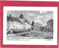 N° 3939. LONS-LE-SAUNIER . D'APRES GRAVURE DU 19eme . Dessin De Yves DUCOURTIOUX . 1989 . CARTE NON ECRITE - Lons Le Saunier