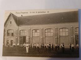 CPA BELGIQUE PASSY FROYENNES COUR DE GYMNASTIQUE - Tournai