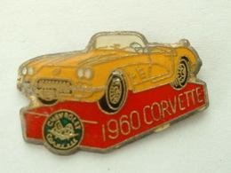 Pin's CORVETTE 1960 - Corvette