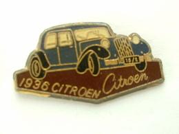 Pin's CITROËN TRACTION 1936 - Citroën