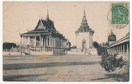 CPA - CAMBODGE - PHNOM-PENH - Pagode Royale - Galerie De L'enceinte - Cambodge